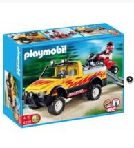 Playmobil Pick Up Truck + Quad  #4228 - $36.62