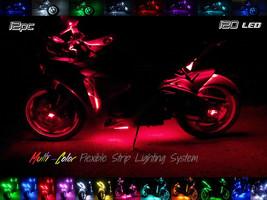 12pc Wireless Multi-Color Flexible LED Motorcycle Lighting Kit Ruckus Grom Moto - $118.80