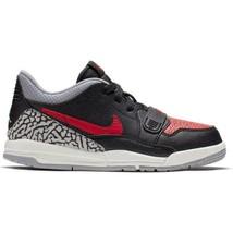 Jordan Legacy 312 Low (PS) Black Red Bred Cement CD9055 006 Preschool Sn... - $64.95