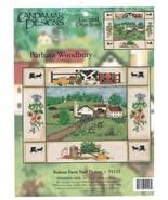 "Barbara Woodbury Cross Stitch Kit  ""Kolona Farm yard Picture""  Preowned - $16.00"