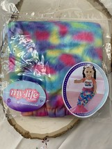 Brand new - My life Doll Mermaid Tail Blanket - $14.85
