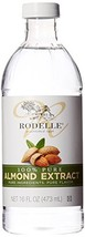 Rodelle Pure Extract, Almond, 16 Ounce - $23.60