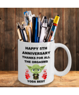 5 Year 5th Wedding Anniversary Funny Gift For Husband Wife Fiance Star Wars - $13.95