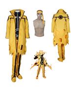 Naruto Uzumaki Hokage Cosplay Costume Halloween Party Fancy Costume - $114.38
