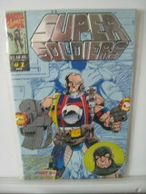 Mavel UK Super Soldier # 1 Comic Book with Foil Cover 1993 Mint - $9.85