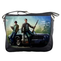 Messenger Bag Supernatural American Horror Movie The Brothers Dean And S... - $30.00