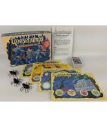 Vintage 1995 Parker Brothers GOOSEBUMPS 'Shrieks and Spiders' Board Game - $10.00