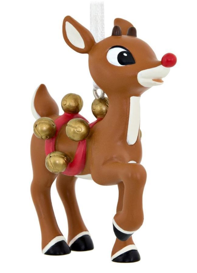Primary image for Hallmark: Rudolph The Red-Nosed Reineer - Holiday Ornament