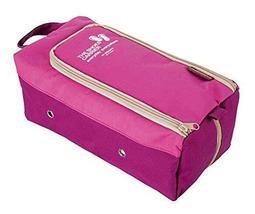 PANDA SUPERSTORE Travel Shoe Bag Shoe Dustproof Bag Waterproof Storage Bag PINK