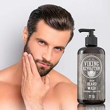Best Deal Beard Wash Shampoo w/Argan & Jojoba Oils - Softens & Strengthens - Nat image 7