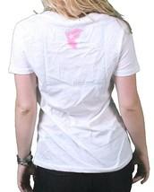 Famous Stars & Straps Donna Bianco Multi Culture Scollo A V T-Shirt Adolescenti image 2