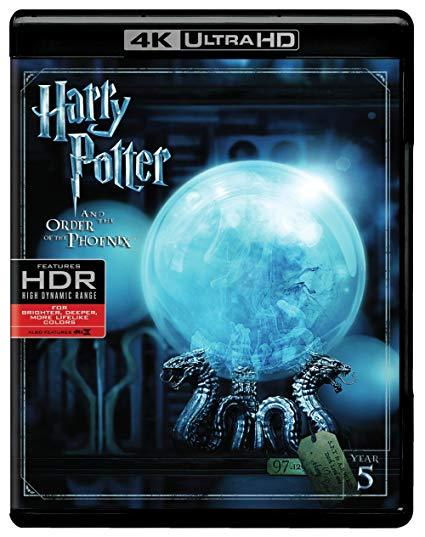 Harry Potter and the Order of the Phoenix (4K Ultra HD + Blu-ray + Digital)
