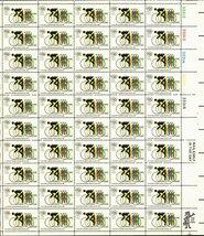 1972 20th SUMMER OLYMPICS CYCLING 50 x 6c Stamp Sheet Scott 1460 - $9.99