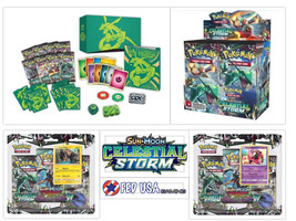 Pokemon Celestial Storm ULTIMATE TRAINER KIT Booster Box + Elite + 2 Bli... - $169.99