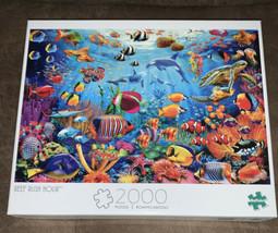 New Reef Rush Hour 2000 Piece Jigsaw Puzzle Buffalo Games - $38.22