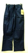 Loft Streeterville Fashion Small Navy Women's Drawstring Scrub Pants New - $27.41