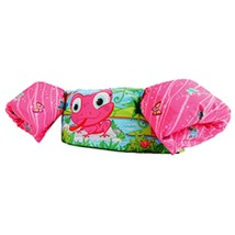 Stearns Puddle Jumper Deluxe - Pink Frog - $41.70