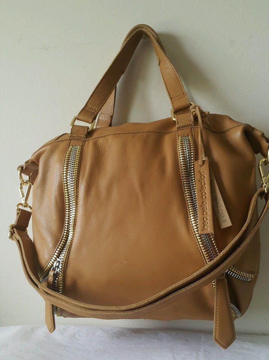 Nwt Linea Pelle Alex Zipper Sdy Collection Handbag Tote Retails 495