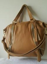 NWT Linea Pelle Alex Zipper Speedy Collection Handbag/ Tote. Retails  $495. - $194.03