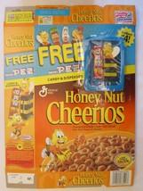 GENERAL MILLS Cereal Box 2001 Honey Nut Cheerios FREE MINI PEZ *BEE* 14 oz - $27.07
