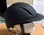 Horse Riding Helmet Ovation Deluxe Schooler Equestrian Hat Low Profile M/L