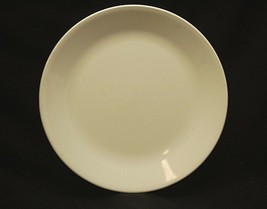 """Old Vintage Corelle by Corning 10"""" Dinner Plate All White USA - $16.82"""