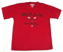 Boy's 6-18 Chicago Bulls Tee Shirt NBA Exclusive Collection T-Shirt Red