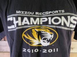 MIZZOU Recsports Champions 2010-2011 T-Shirt Size M - $8.90