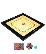 Ally Sports Kids Size 14 inches Carrom Board with Coins and Striker, 4mm... - $49.50