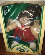 Vtg Cabbage Patch Kids Jesmar Doll Spain Spanish In Box W Certificate 1984  - $98.99