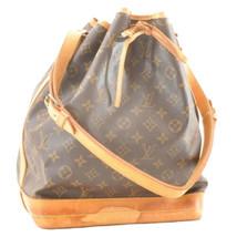 LOUIS VUITTON Monogram Noe Shoulder Bag M42224 LV Auth ar2040 TEAR - $385.20