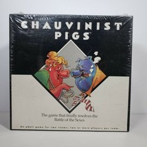 Chauvinist Pigs Battle of the Sexes Adult Couples Party Board Game Vinta... - $21.43