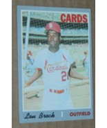 1970 TOPPS LOU BROCK CARDS #330 - $0.99