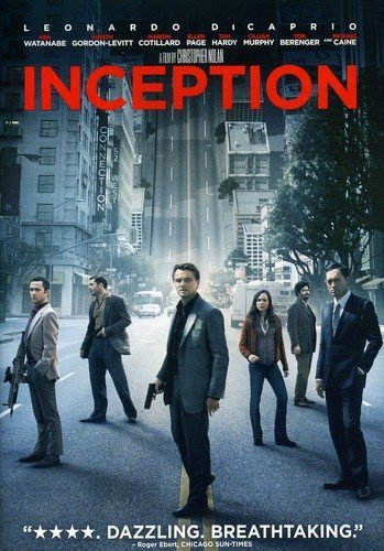 Inception (2010) DVD