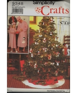 UC Nightshirt Sz XS S M L XL Tree Skirt Stocking Snowmen Simplicity 9348... - $6.99