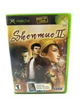 Shenmue II Microsoft Xbox, 2002 Game Case Manual Tested Working - $7.85