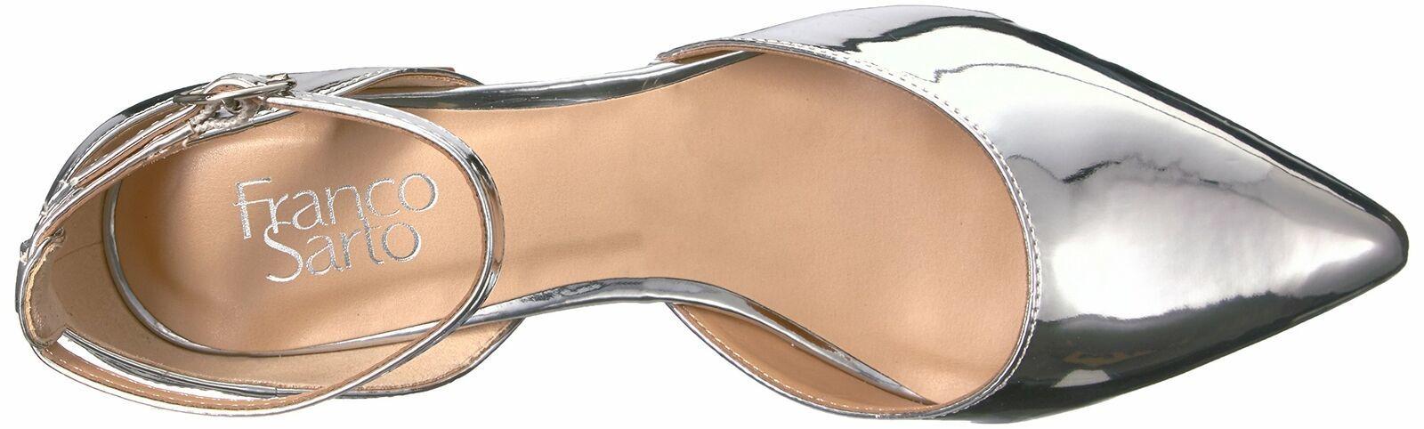 Franco Sarto Women's Caleigh Pump 6.5 Silver image 5