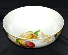 "Lenox Garden Mural * Round Serving Bowl * 9 5/8"", Fruit & Leaves, Exc! - $36.62"