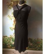 Jones Wear Women's Black Chiffon Dress Size 10 New - $47.52