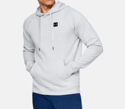 Under Armour Men's Rival Fleece Pullover Hoodie NEW AUTHENTIC Gray 13207... - $39.99