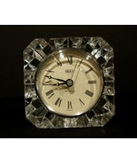 Mikasa Crystal / Glass Westminster Clock Quartz  Made in Germany - $5.99