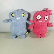"Ugly Dolls Lot Moxy Pink & Babo Blue Yours Truly Plush Stuffed Animal 9""... - $19.99"