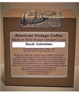 Decaf. Colombian Medium Bold Roasted 10 Single Serve K-Cups Free Shipping - $10.41