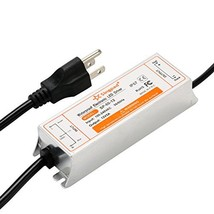 SingPad 60 Watt Waterproof LED Power Supply Driver Transformer 120 to 12... - $35.21