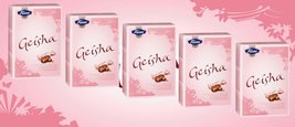 5 Boxes of Fazer Geisha Milk Chocolate with Hazelnut Filling 750g 26 Oz Finland - $47.43
