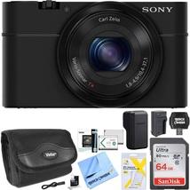 Sony Cyber-Shot DSC-RX100 Digital Camera Bundle with 64GB Memory Card (B... - $960.07 CAD