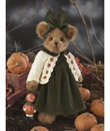 "Bearington Bears ""Piper And Pumpkin"" 15"" Plush Bear- #1592 - NWT- 2005 - $44.99"