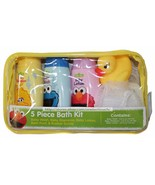 BCL KIDS 5pc Set SESAME STREET Shampoo+Wash BABYBATH KIT Lotion+Pouf+Duc... - $6.00