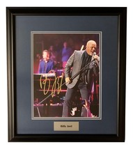BILLY JOEL FRAMED AUTOGRAPHED Hand SIGNED 11X14 PHOTO THE PIANO MAN w/COA  - $425.00