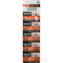 Maxell 1.5V Alkaline Cell Battery (10pcs per pack), LR1130 - $9.98